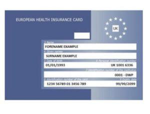 European-Health-Insuarance-Card