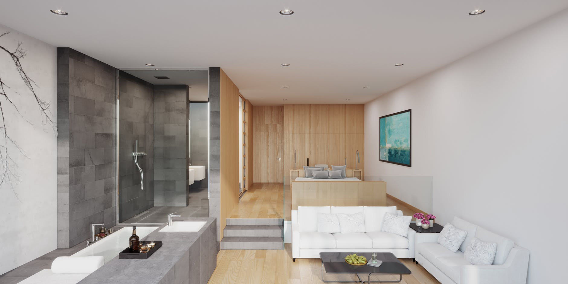 A clean and dreamy house